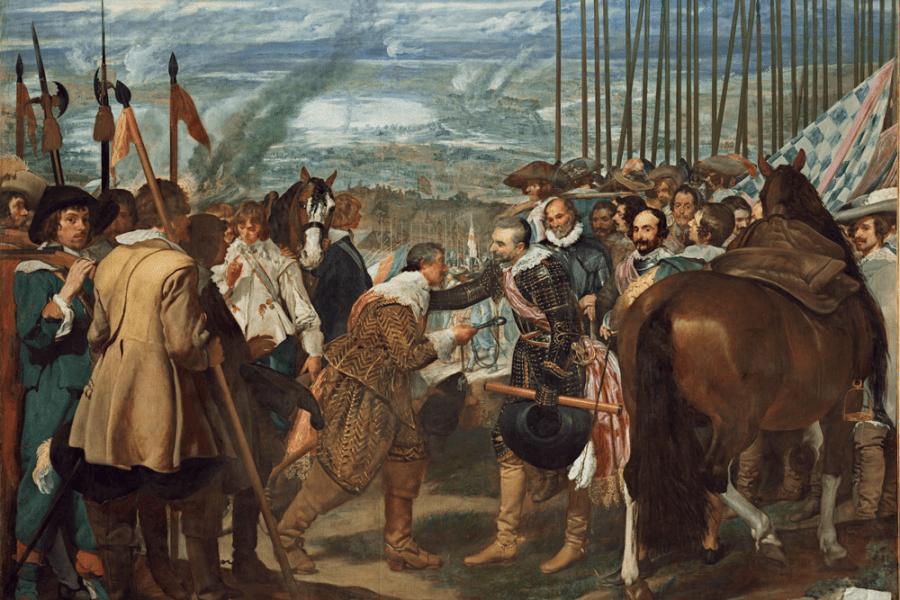 La rendición de Breda. Velázquez