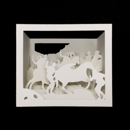 La carga de los mamelucos. Goya