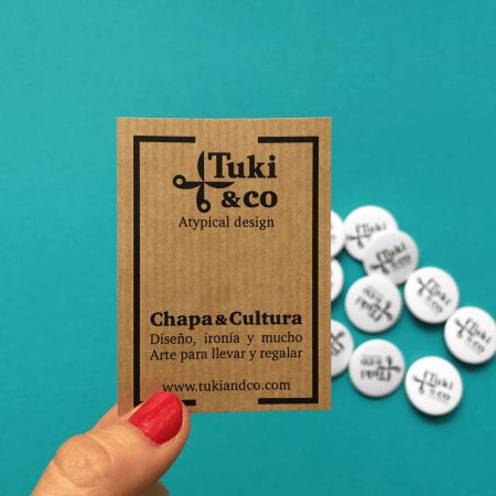Pack de 5 Chapas (Chapa y Cultura)