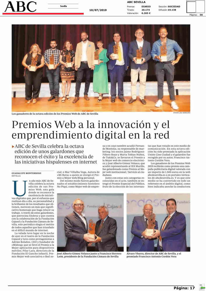 PREMIOS WEB ABC